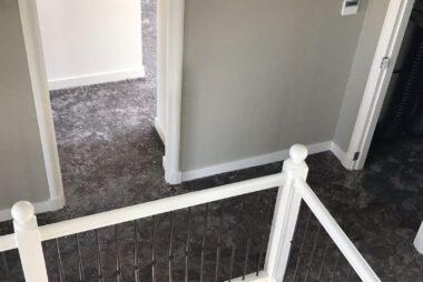 Bacovloeren tapijt overloop en kamers boven