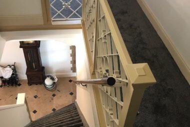 Bacovloeren tapijt overloop en trap