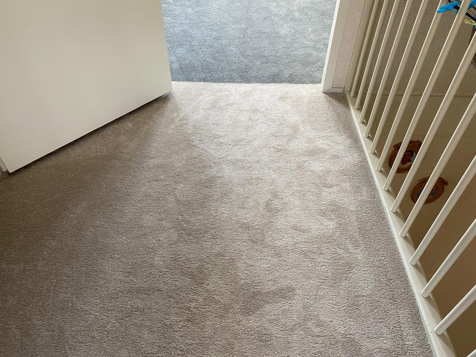 Bacovloeren tapijt leggen overloop